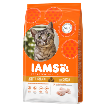 Iams ProActive Nutrition with Succulent Roast Chicken, 3 kg