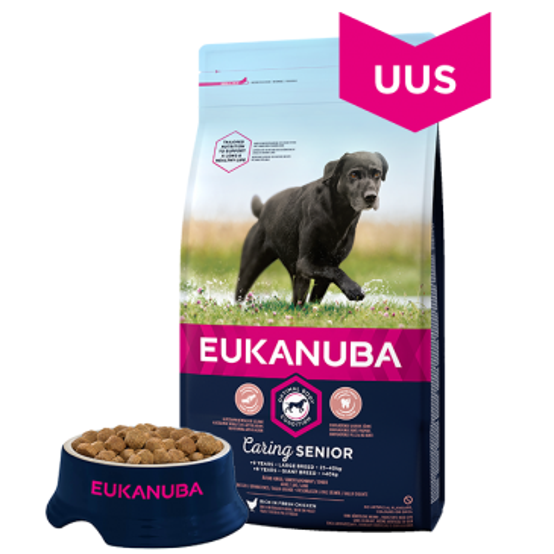 Eukanuba Mature and Senior 6+ Large Breed koeratoit, 15 kg