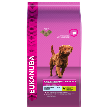 Eukanuba Adult Weight Control Large Breed, 15 kg