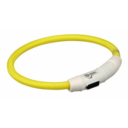 Vilkur Flash light ring USB L-XL 65cm/7mm yellow