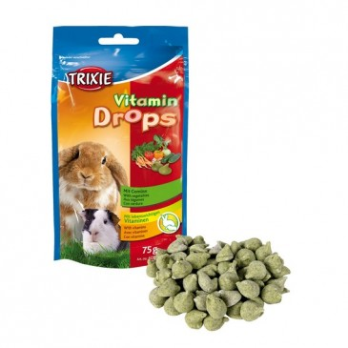 Vitamin-Drops, aedviljadega, 75g.