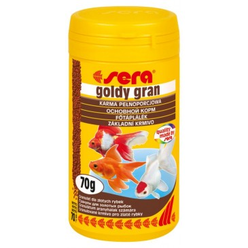 Goldy Gran täissööt kuldkaladele, 100ml