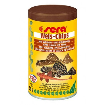 Sera 'Wels-Chips' 100ml.