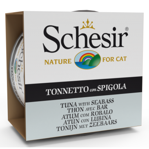 Schesir Cat kassikonserv tuunikala meriahvenaga želees 85g
