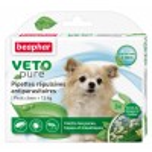 Beaphar VETO-Pure Spot-on parasiitide vastased tilgad koertele < 15 KG