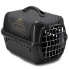 Transpordiboks Trendy runner Spring Lock Door luxurious pets black