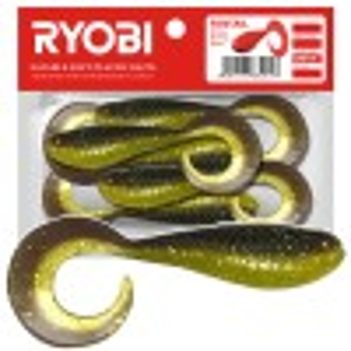 Silikoonlant Twister söödav Ryobi Fantail 51mm CN010 8tk