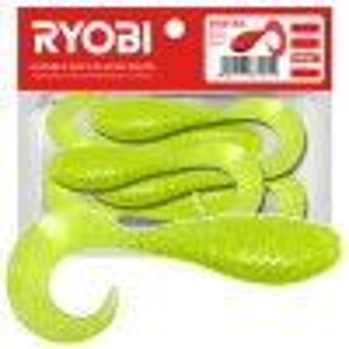 Silikoonlant Twister söödav Ryobi Fantail 62mm CN002 5tk