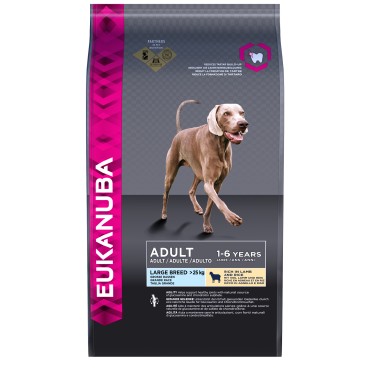 Eukanuba Adult Large Breed Rich in Lamb and Rice, 2,5 кг