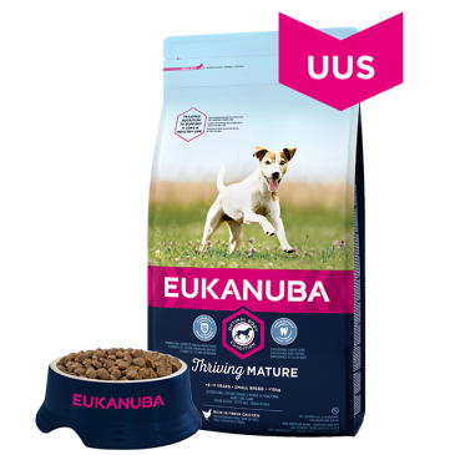 Eukanuba Mature and Senior Small and Medium, 3 кг