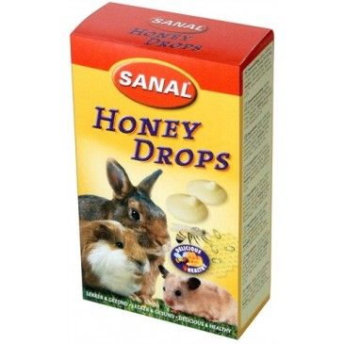 SANAL Honey Drops, со вкусом мёд, 45г.