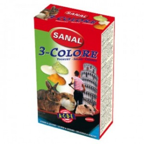 3-Colore Drops Sanal, для грызунов, 45г.