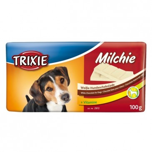 Белый шоколад для собак, 100г.