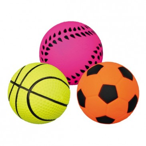 Игрушка для собак мяч из пенолатекса, 9см