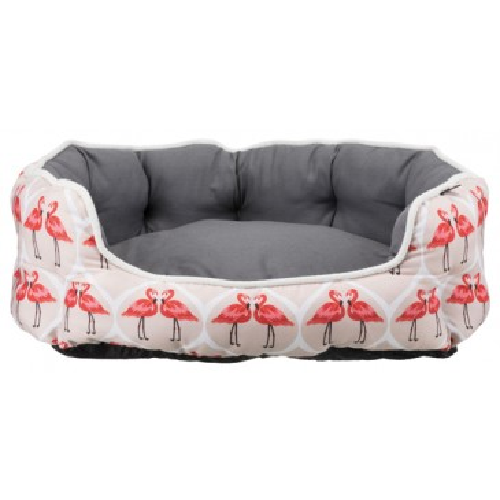 Лежак Trixie Flamingo 65х50 см серо-бежевый