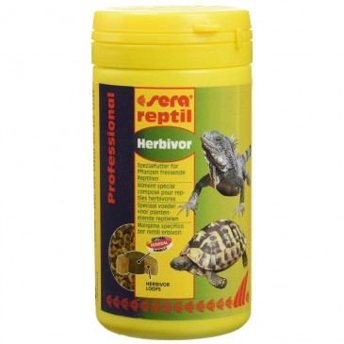 Sera Reptil Professional Herbivor 250ml/80g
