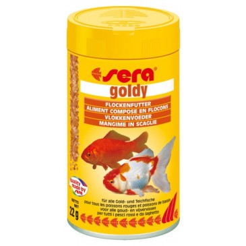 Sera 'Goldy' 100ml. хлопья для золотых рыбок
