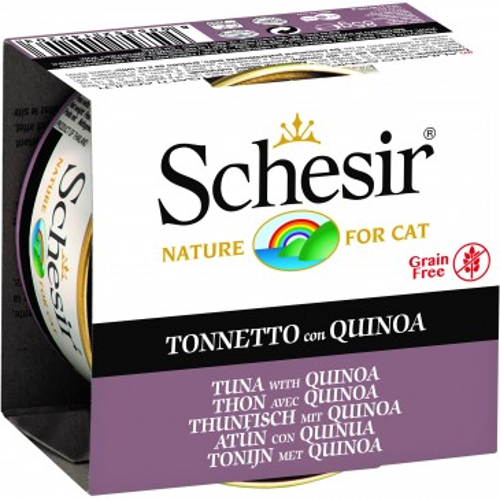 Schesir Cat Tuna with Quinoa 85g