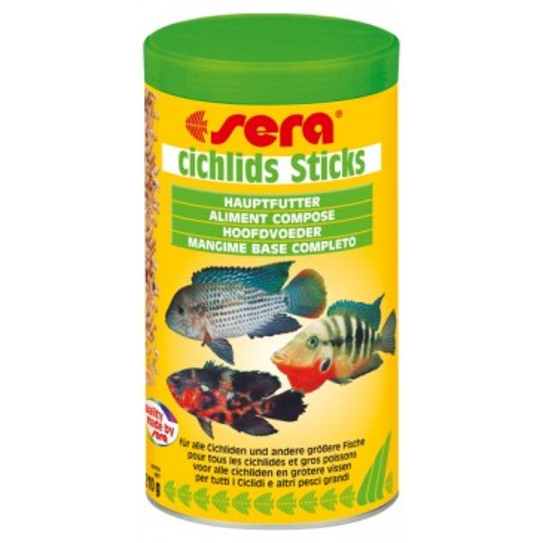 Sera 'Cichlid-Sticks' палочки для цихлид, 1000мл.