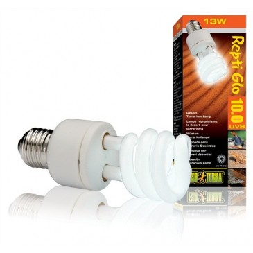 Лампа для пустынного террариума Exo Terra Repti Glo 10.0 Compact, 13Вт