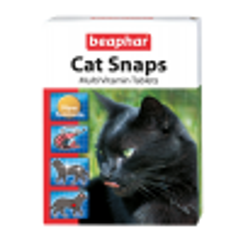 Beaphar Cat Snaps кормовая добавка для кошек 75tabl