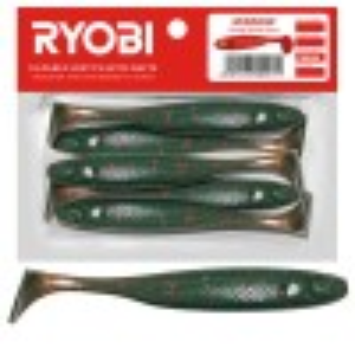 Съедобная резина Ryobi Minnow 76mm CN003 5tk