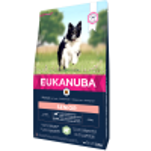 Eukanuba Dog Senior Lamb and Rice Small&Med Breeds собачий корм, 2,5 кг
